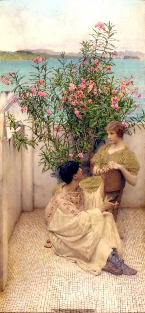 Alma Tadema - Courtship